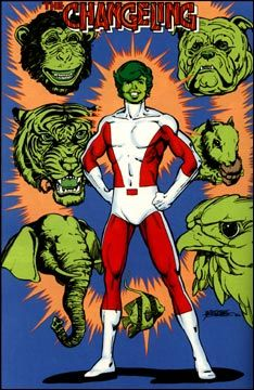 Beast Boy in the comic
