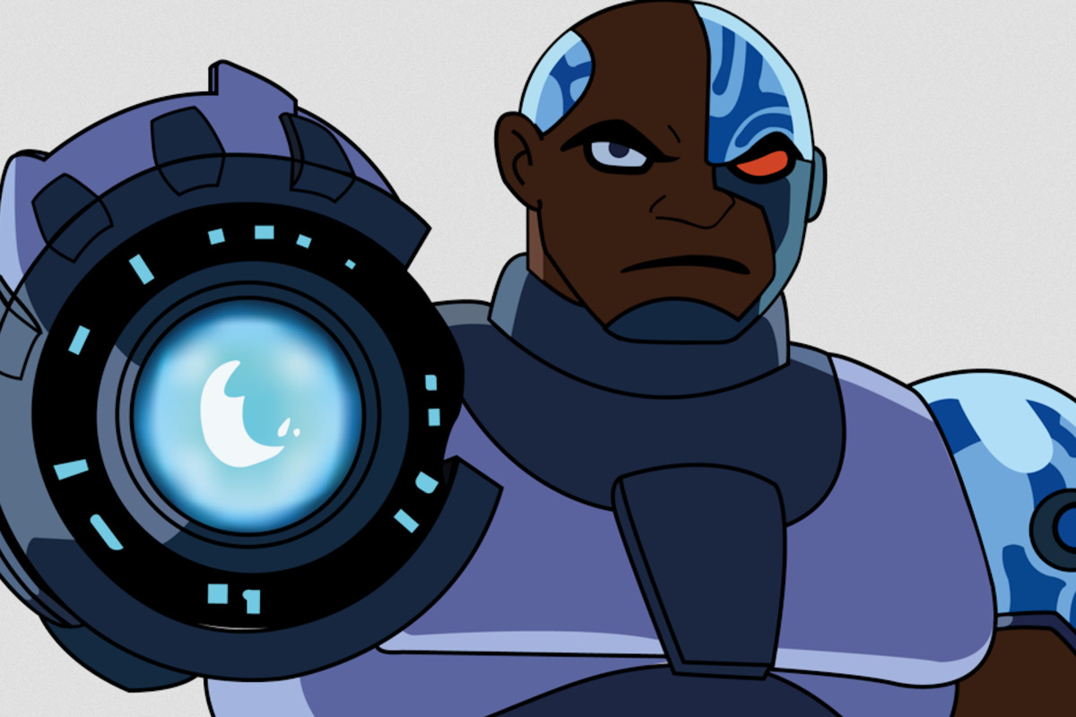 Cyborg in the animated series